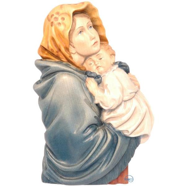 Madonna of the streets relief-Ferruzzi - COLOR