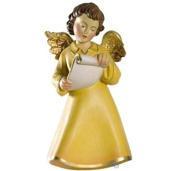Celestial angel with scroll - COLOR