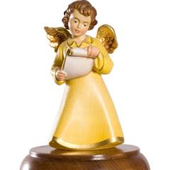 Angels with musical movement base-revolving