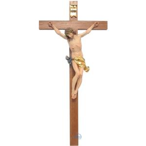 Crucifix-Christ's body with straight cross