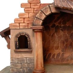 Stables for Nativity scenes