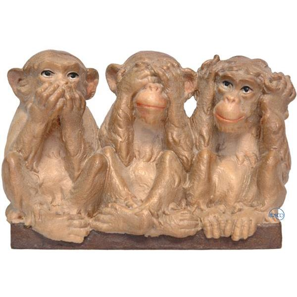 The Three monkeys - COLOR