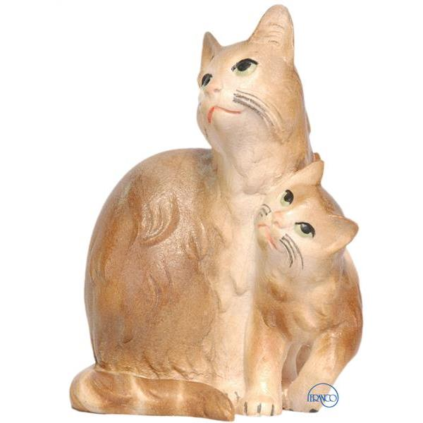 Group of 2 cats - COLOR